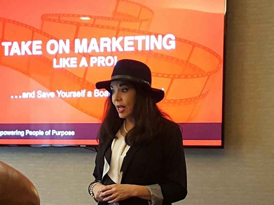 Cheryl Wicker marketing workshop presenter