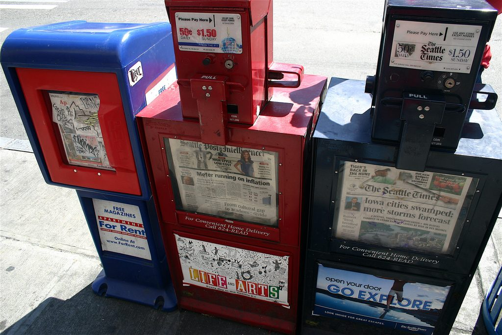 Get media exposure in local newspapers and local television