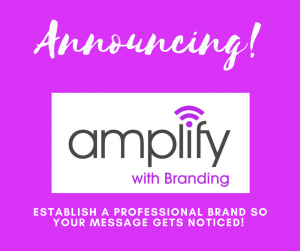 Amplify with Branding DIY branding